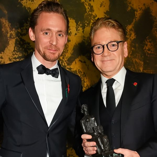 Tom Hiddleston onstage presenting the Lebedev Award to Sir Kenneth Branagh at the 62nd London Evening Standard Theatre Awards at The Old Vic Theatre on November 13, 2016 in London. Full size image: http://ww1.sinaimg.cn/large/6e14d388gw1f9rb2jjfdfj21kw13an6v.jpg Source: Torrilla