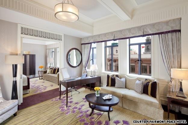 The Fairmont Peace Hotel, Shanghai China