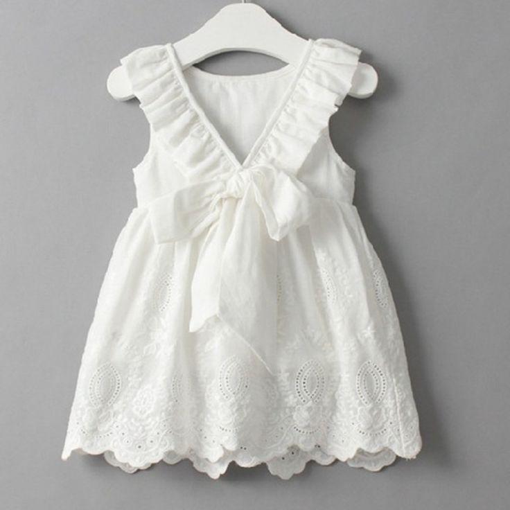 Girls Eyelet & Lace Dresses Flower Girl Dresses 3 styles