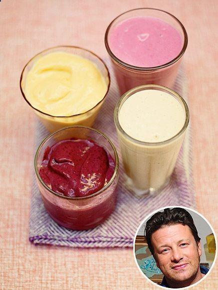 Jamie Olivers Frozen FruitSmoothie