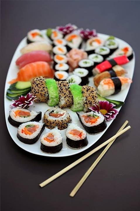 #food #maki #sushi #japonais #triipster