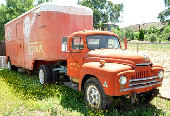 1950 international trucks for sale 1950 international truck and trailer race team hauler for. Black Bedroom Furniture Sets. Home Design Ideas