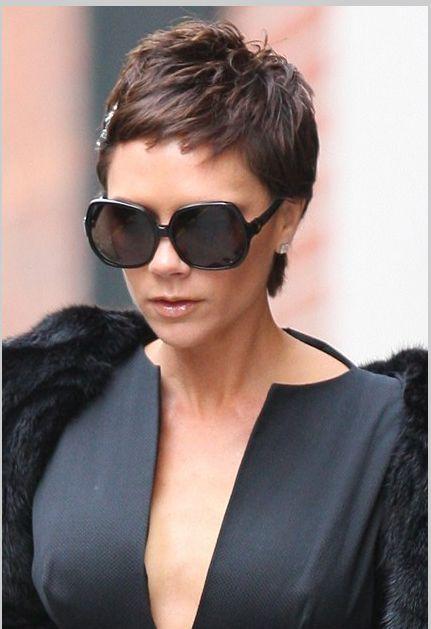 Victoria Beckham Pixie Cut