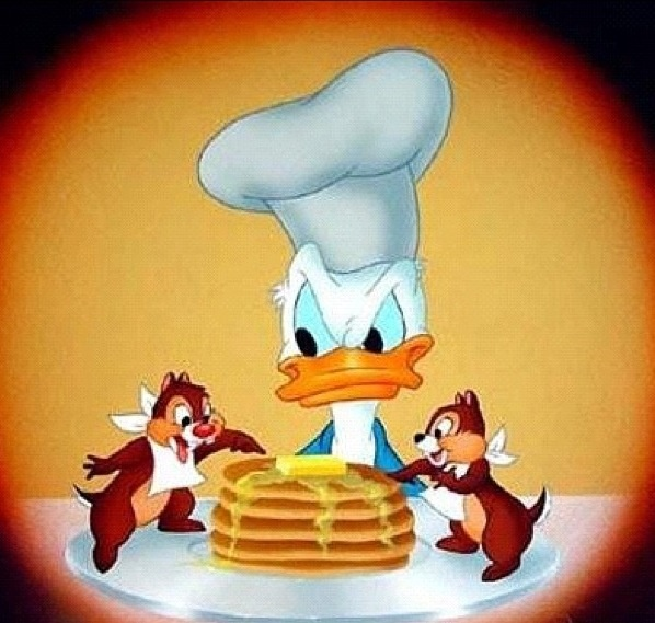 Classic Donald, Chip & Dale