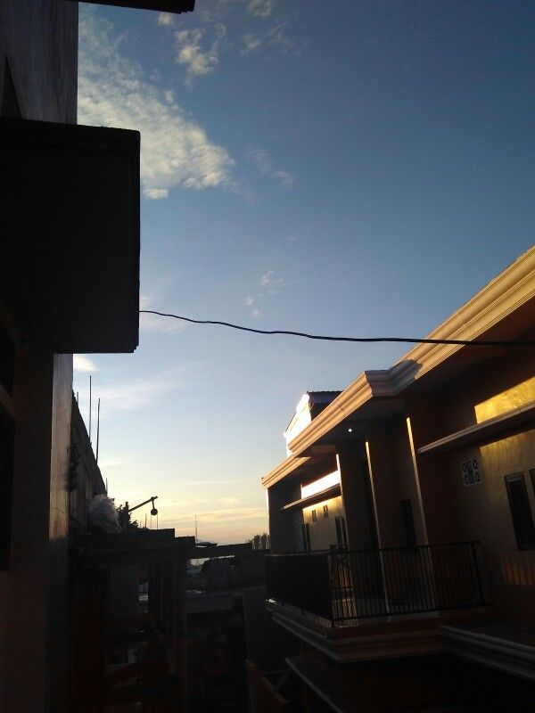 6 a.m on my balcony