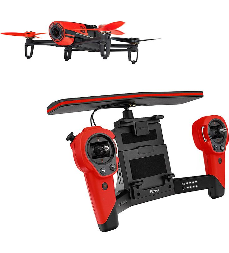 PARROT - Bebop Red Drone and Skycontroller, £729, www.selfridges.com