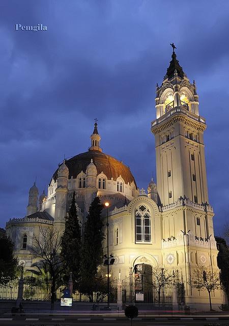 Iglesia de San Manuel y San Benito, de Madrid (España),