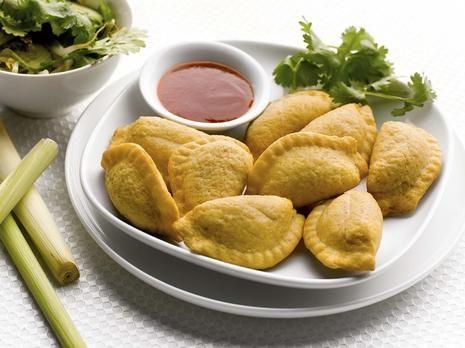Gluten Free Thai Green Curry Puffs