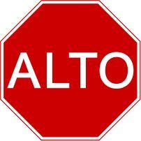 Crear cociencia en los niños al saber utilizar las diferentes señales de trancito para evita accidentes. por ejemplo este signo nos indica que debemos detenernos y observar a ambos lados de la calle para poder cruzar.