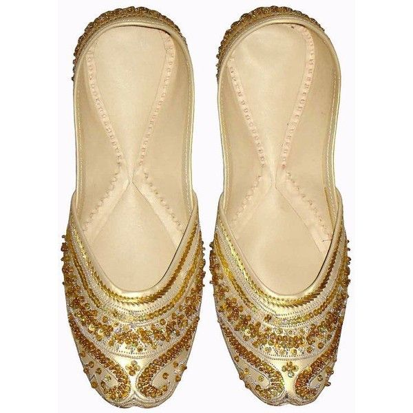 Items similar to women shoes, indian shoes, khussa shoes, flat shoes... ❤ liked on Polyvore featuring shoes, wedding shoes flats, bridal shoes, beaded flat shoes, flat bridal shoes and flat wedding shoes