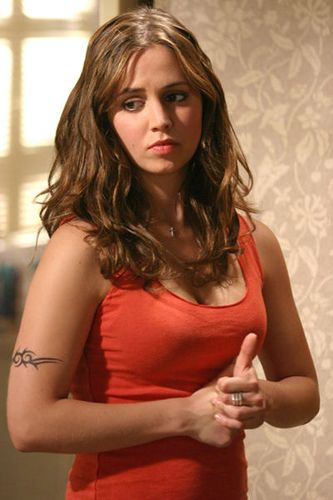 Eliza Dushku as Faith on Buffy. FIERCE.