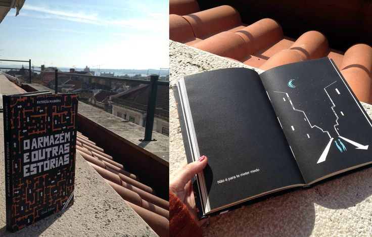 Reading with a view. Loving the pictures that readers of O Armazém e Outras Estórias/The Warehouse and Other Stories are sending of their reading experiences. Thanks for sharing, Rita. ♥ #oarmazemeoutrasestorias