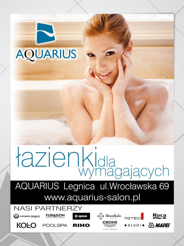 Poster designed by AQUARIUS Poland Legnica
