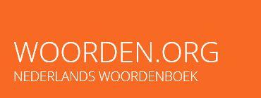 Woorden.org is een gratis online Nederlandstalig woordenboek. Het privé-initiatief is gestart in 2010 en is een verzameling van woorden, verrijkt met eigenschappen, afbreekpatronen, uitspraak, definities, voorbeelden, spellinginformatie, onregelmatigheden, synoniemen, antoniemen en zegswijzen.