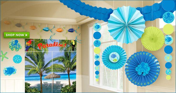 Summer Party Decorations Feste Compleanni Pinterest