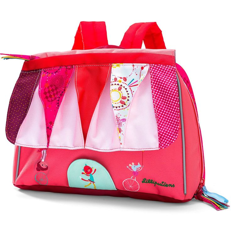 Le Cirque - petit #cartable #sac #lilliputiens