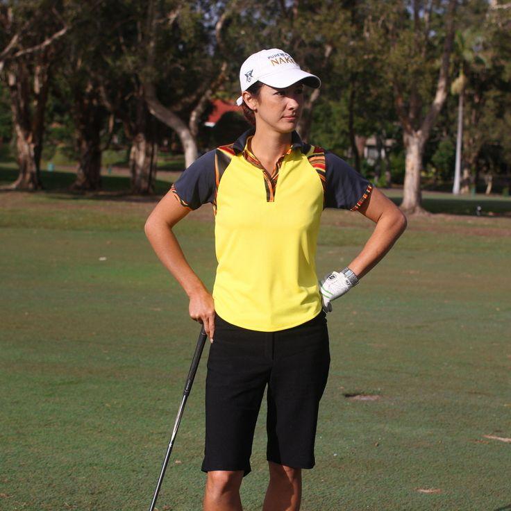 (http://www.ladygolfwear.com.au/womens-short-sleeve-golf-shirt-green-yellow-or-orange/)