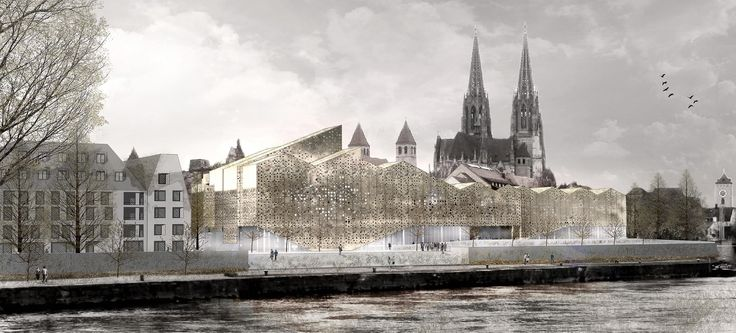 Bavarian History Museum Competition Entry / X+UN Architecture