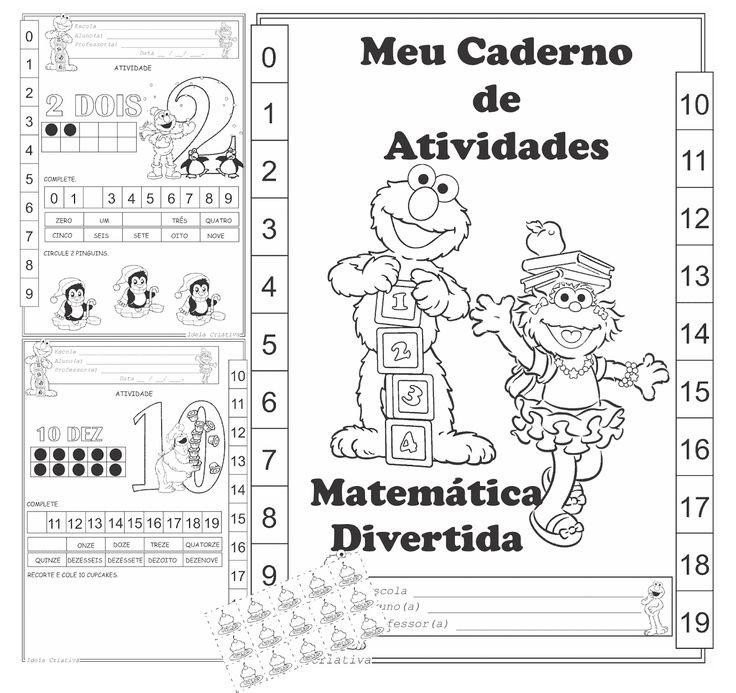 Níveis de ensino: Educação Infantil ( FAIXA ETÁRIA 5 ANOS) ou 1° Ano ( Nível Iniciante) Tipos de recursos: Atividades para imprimir, anexos para recorte e colagem