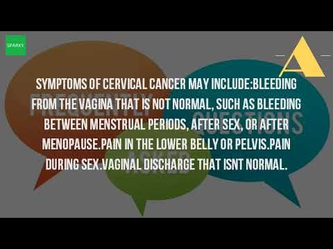 What Are The Symptoms Of HPV Cervical Cancer? - WATCH THE VIDEO   *** signs of cervical cancer ***   Of the cervical cancers related to hpv, about 70. The cervix is the lower part of uterus (womb) that opens at top vagina human papillomavirus types 16 and 18 are cause 75. Most sexually active women and men will be infected at some point in high risk hpvs...
