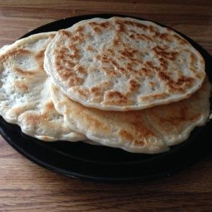 Paleo Naan Bread, 3 ingredients!