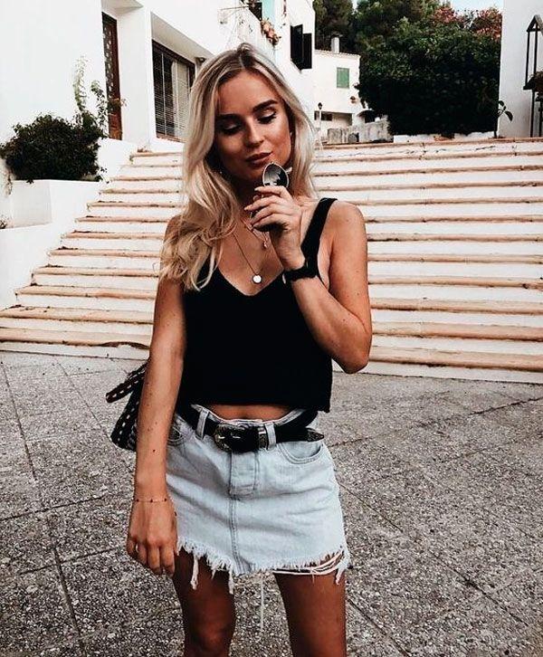 5c4f31a7e 7 Dicas Fáceis para o Look da Balada de Verão | Moda | Look, Looks ...