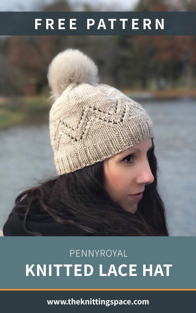 hand knitting hat