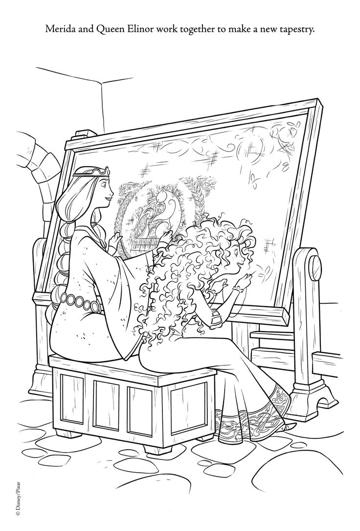 Coloring pages furniture - Disney Coloring Pages