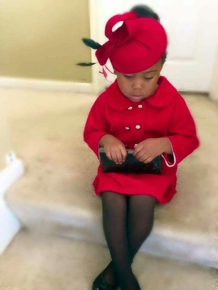 Too cute...a little church lady..