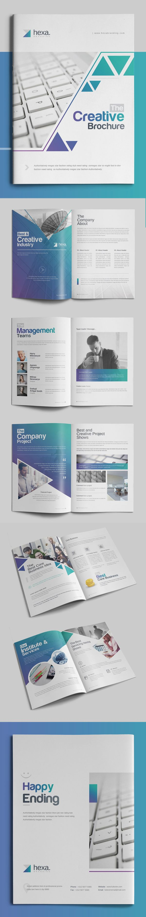 Corporate Brochure Template     #annualreport #bestof #booklet #brochuredesign #brochuretemplates #catalogdesign #portfoliobrochure