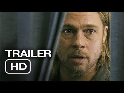 World War Z TRAILER  #2 (2013) - Brad Pitt Movie HD  A U.N. employee is racing against time and fate, as he travels the world trying to stop the outbreak of a deadly Zombie pandemic.  Cast: Brad Pitt: http://j.mp/YS...