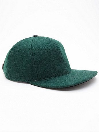 Wool and Suede Cap | American Apparel
