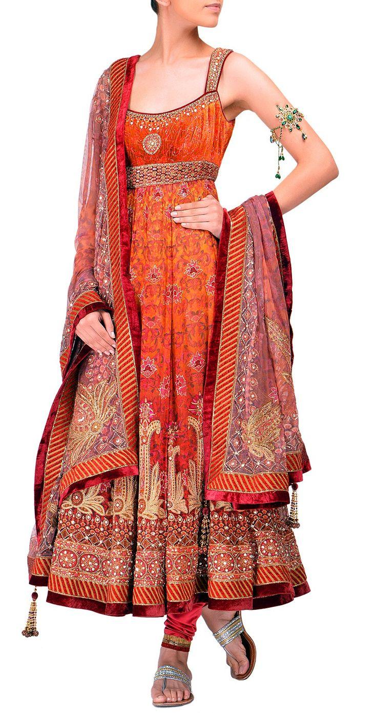 Beautiful Anarkali Suit Design