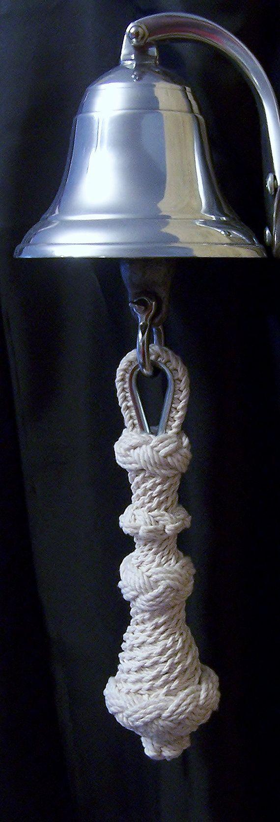 Cuerda de campana nudo estrella náutica por ShadySideKnotWorks