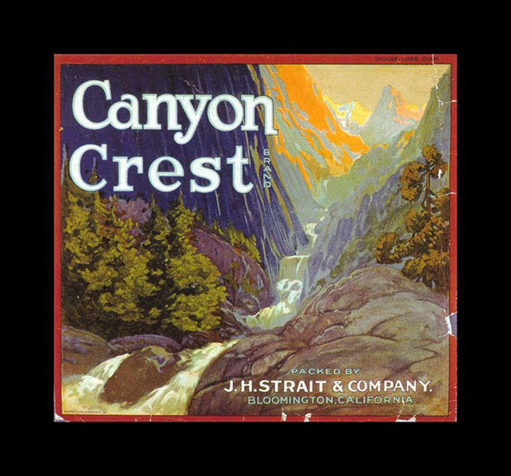 Canyon Crest Brand - Bloomington, California