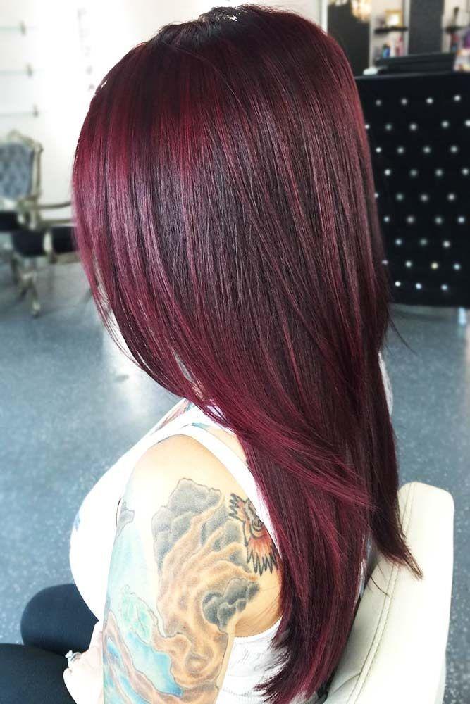 A Stylish Mahogany Hair Trend That You Should Try Sac Kesimi