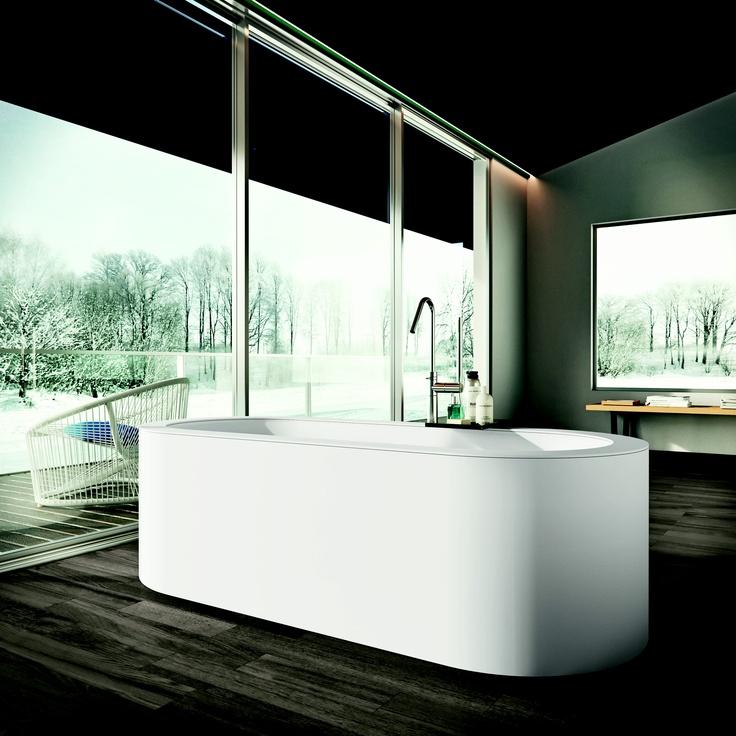 Makro bathroom concepts: 'Eclettico'  pure minimalism high technology