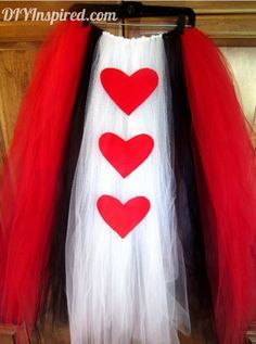 king of hearts costume Queen Of Hearts Costume Diy