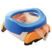1 Pc Bebê plástico assento do vaso sanitário Infantil Penicos Anel Crianças dos miúdos Formadores Potty Wc Portátil Dobrável Cadeira Confortável