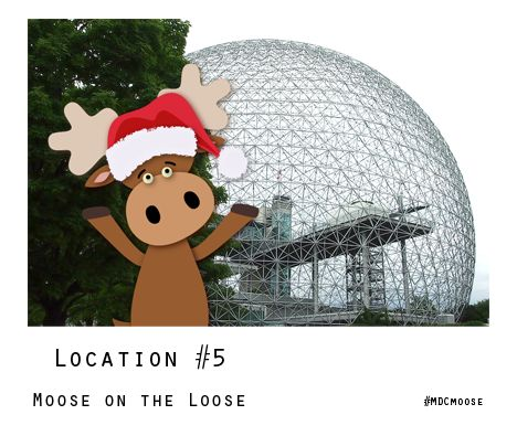 Location, location, location! Help #MDCmoose remember his Canadian landmarks to WIN a holiday ornament