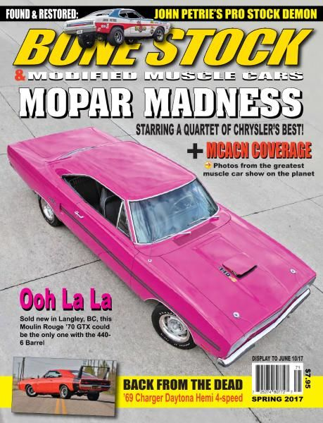 Bone Stock & Modified Muscle Cars - Spring 2017