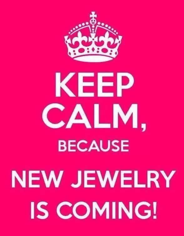 New Jewelry is coming! Spring line debuts Jan. 11, 2014