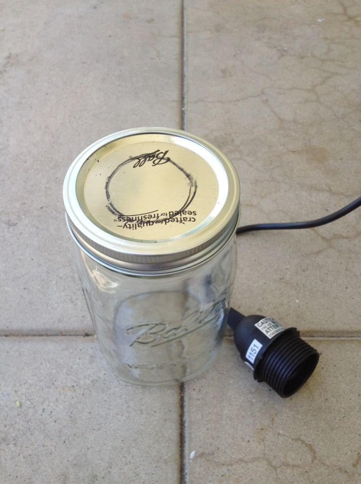 60 Best Images About Jar Lights On Pinterest Pendant