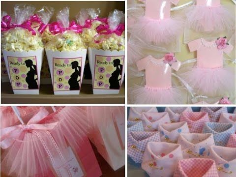 7f08b1781 BABY SHOWER DE NIÑA MANUALIDADES / IDEAS PARA MESA DE DULCES PARA BABY  SHOWER DE NIÑA - Hablobajito - YouTube | افكار | Diy baby shower  centerpieces, ...