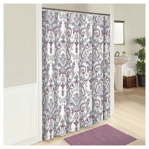 Marble Hill Royal Meadow Floral Shower Curtain - Marble Hill®