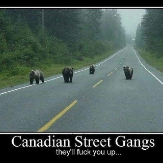 Canada................to funny
