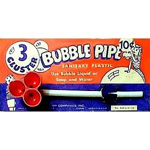 Bubble Pipe: Somehow a little bubble liquid would always go the wrong way and end up in my mouth. I still remember that awful taste.