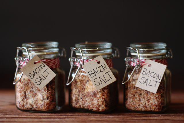 Bacon Salt - For the bacon lover in your family :)
