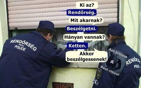 rendőrök :)