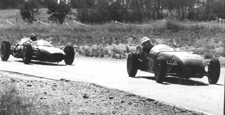 A Lotus 7 took part in a Formula 1 race in South Africa in December 1962, the Rand Grand Prix was held at Kyalami and attracted a sensible field,